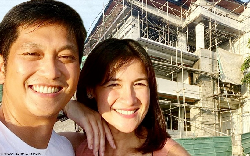 WATCH: Camille Prats gives a tour of new house in progress