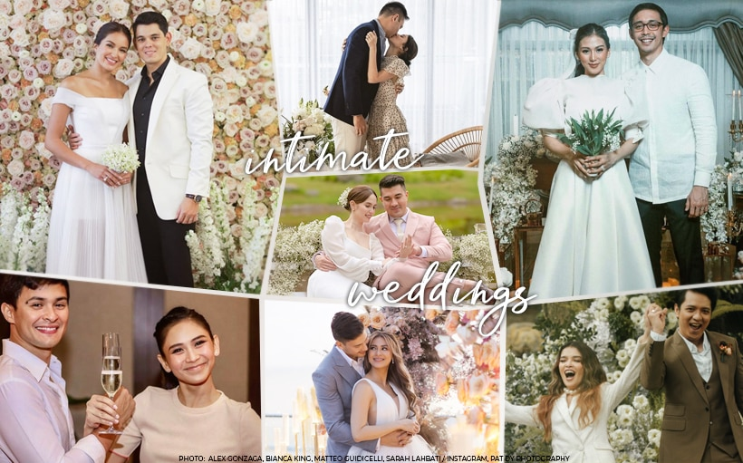 8 intimate celebrity weddings to get inspiration from