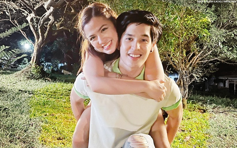 'I'm very fond of him:' Alexa Ilacad answers if Gab Lagman is her ideal type