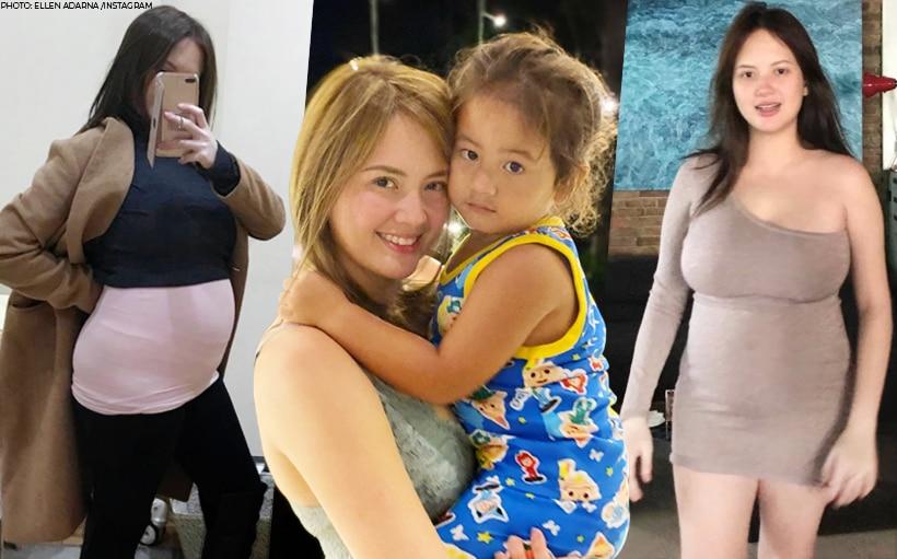 Ellen Adarna shares pics during pregnancy with Elias