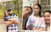 LOOK: Julia Barretto shares pics of Gerald bonding with her family