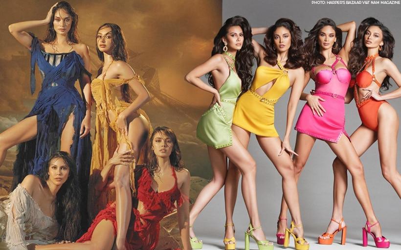 Harper's Bazaar Vietman gathers Philippines' 'Big 4' beauty queens