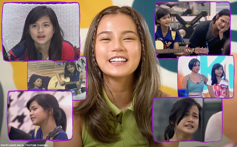 WATCH: Maris Racal's hilarious reaction to her old 'Pinoy Big Brother' videos