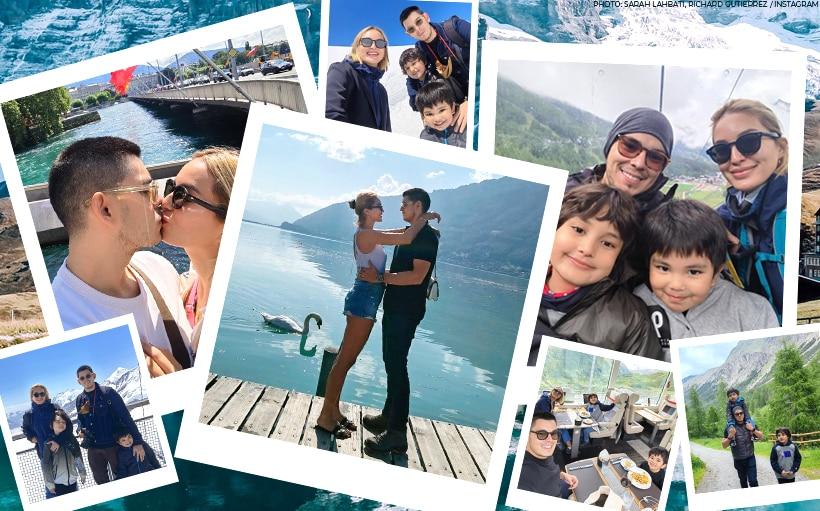 PHOTOS: Richard Gutierrez and Sarah Lahbati's dreamy Switzerland vacation with their kids