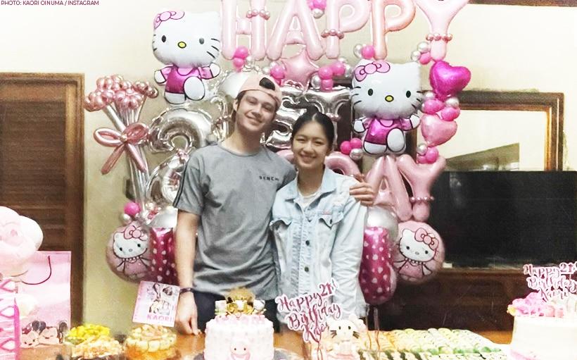 LOOK: Kaori Oinuma celebrates birthday with Rhys Miguel