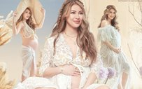 Sam Pinto looks radiant in photos from maternity shoot