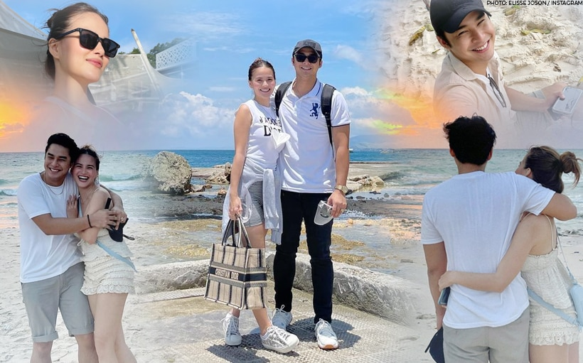 LOOK: McCoy and Elisse reunite; go on a beach trip together