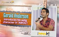 Gerald Anderson introduces his astig character in 'AWOL'!