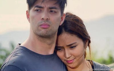 Joross shares some BTS goodness featuring Kathryn!
