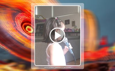 Scarlet Snow getting ready for 'The Voice Kids'?