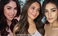 Liza, Julia, and Kathryn do an Ariana Grande tribute