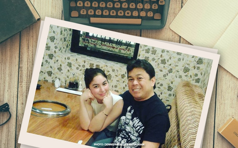 Julia, Dennis spend 'girly' Father's Day together