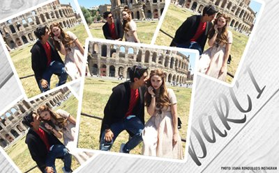 Daniel Matsunaga and Arci Munoz are 'lovers' in Rome!