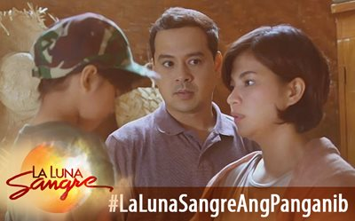 #LaLunaSangreAngPanganib Scene of the Day: Family on the run