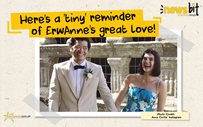 Here's a 'tiny' reminder of ErwAnne's great love!