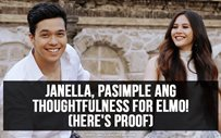 Janella, pasimple ang thoughtfulness for Elmo! (Here's proof)
