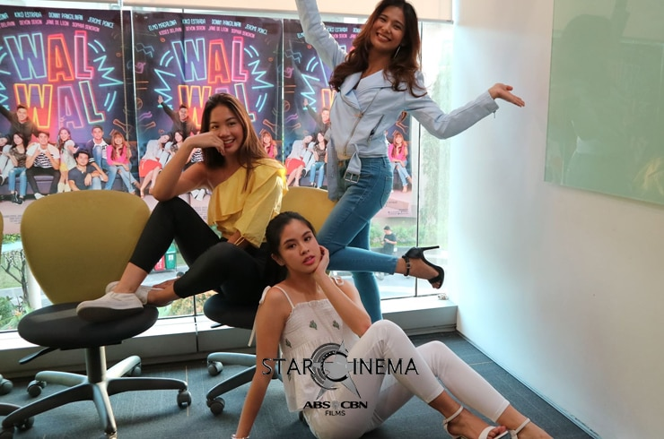 Star Cinema Chat with Walwal Girls 8
