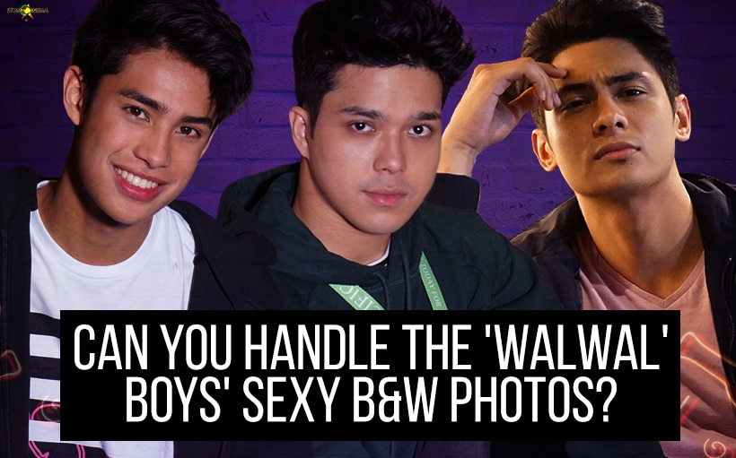 Can you handle the 'Walwal' boys' sexy B&W photos?