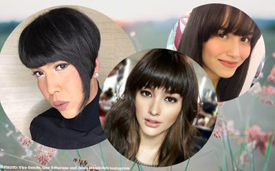 The 'bangs' craze is back!
