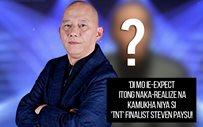 'Di mo ie-expect itong naka-realize na kamukha niya si 'TNT' finalist Steven Paysu!