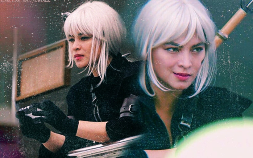 LOOK: Angel Locsin looks stunning with silver hair!
