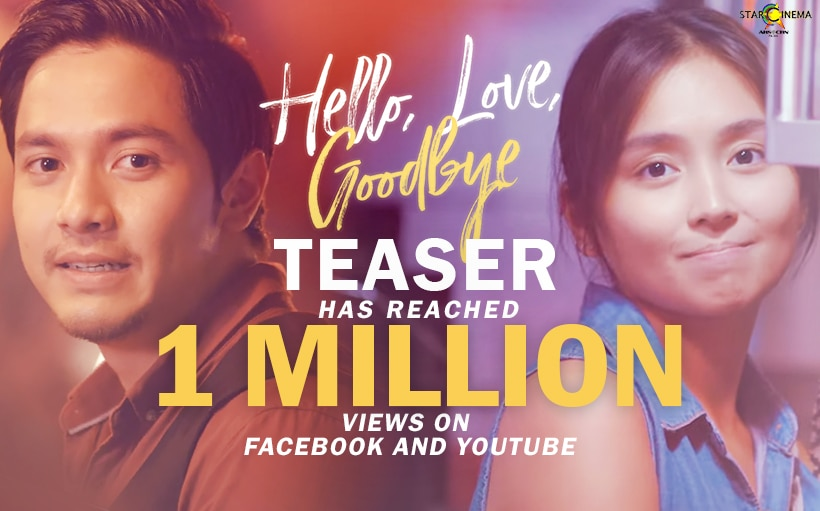 'Hello, Love, Goodbye' teaser hits combined 2M+ views on Facebook and Youtube!