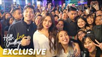 WATCH: Kathryn, Alden + Kakai grace the