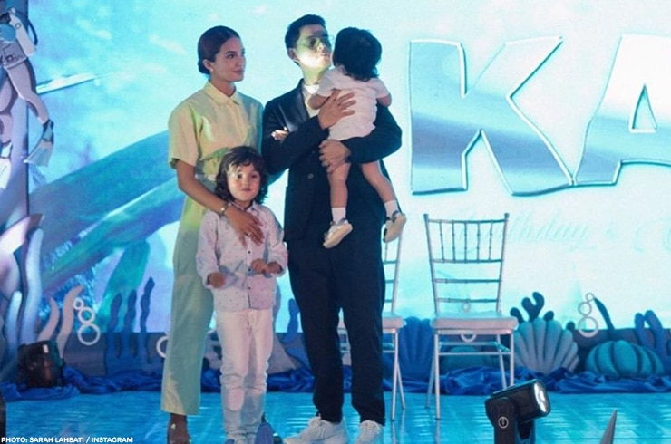 Kai Gutierrez'star-studded, ocean-themed first birthday 13