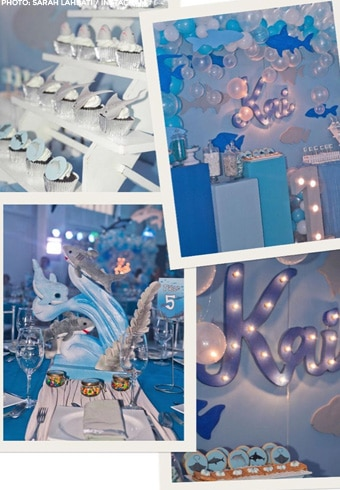 Kai Gutierrez'star-studded, ocean-themed first birthday 19