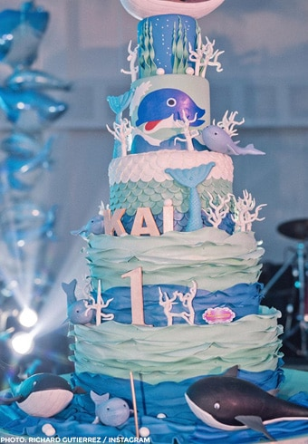 Kai Gutierrez'star-studded, ocean-themed first birthday 6