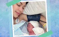 Karel Marquez welcomes a bouncing baby boy!