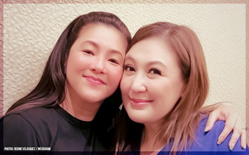 LOOK: OMG! Are Regine Velasquez and Sharon Cuneta collaborating for a project?!