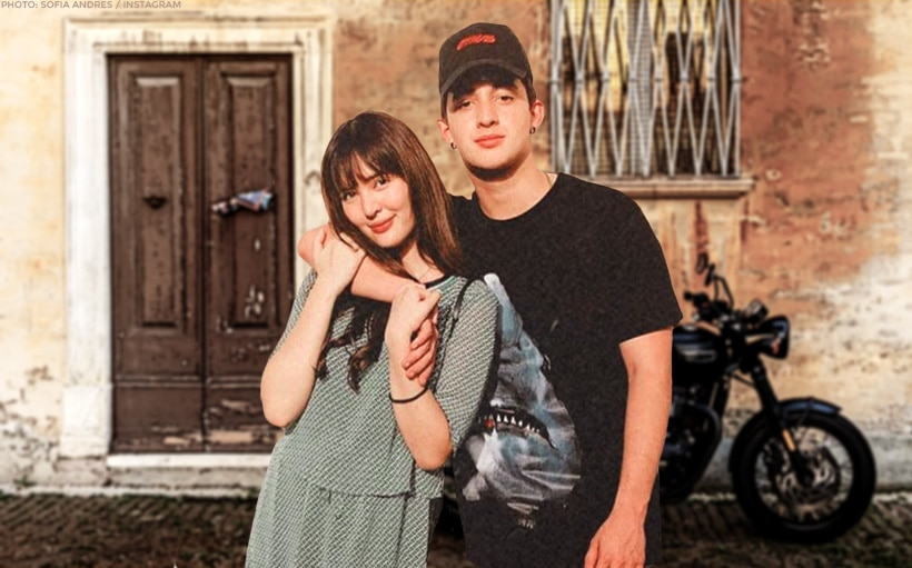 Sofia Andres' BF Daniel Miranda is back on her IG feed!