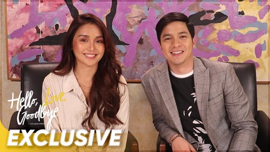 WATCH: Behind-the-scenes at the 'Hello, Love, Goodbye' digital shoot!