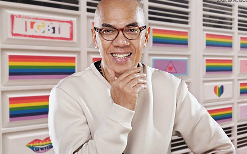 LOOK: Boy Abunda paints his home with rainbow colors for Pride Month!