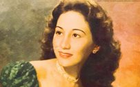 PHOTO: The late Anita Linda, through the eyes of Fernando Amorsolo