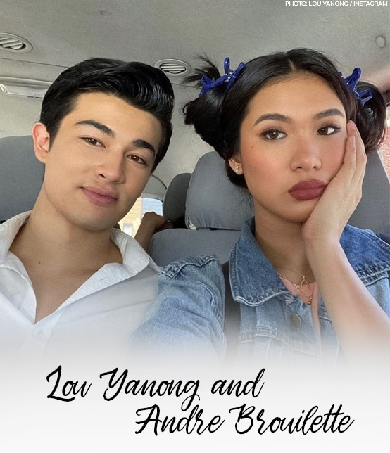 Lou Yanong and Andre Brouilette