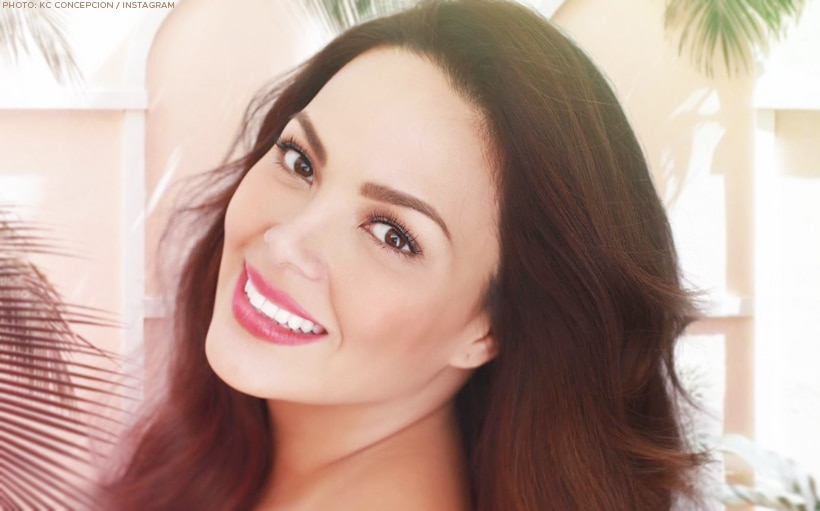 KC Concepcion is all about staying real and staying confident!