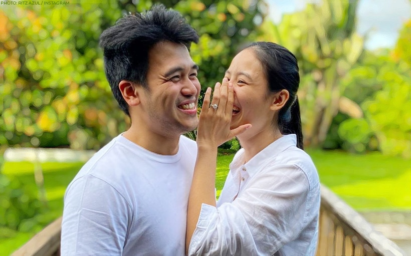 Ritz Azul announces engagement with non-showbiz boyfriend!