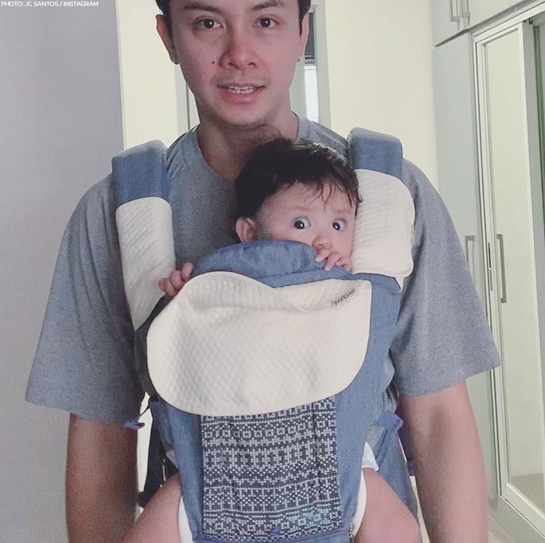 JC Santos and Baby River's cutest moments together!