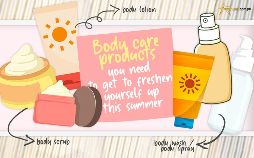 4 body care products you absolutely need to freshen yourself up this summer