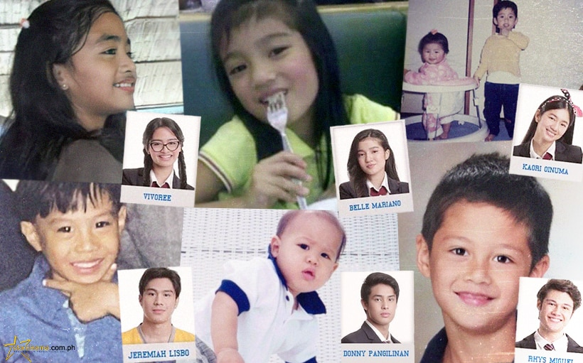 EXCLUSIVE: The cutest childhood photos of the 'He's Into Her' cast!