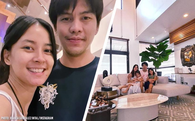 'Beyond grateful': Bianca Gonzalez, JC Intal move into their new home