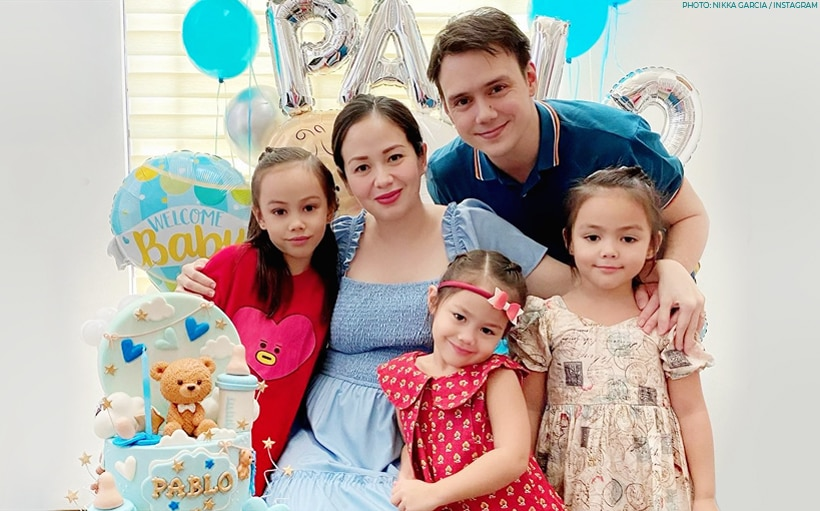 Patrick Garcia, wife Nikka have a virtual baby shower