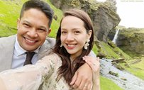 Mo Twister, Angelicopter get married in Iceland