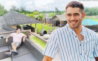 Gerald Anderson's updated tour of his beach resort shows the bonfire spot, jacuzzi + more!