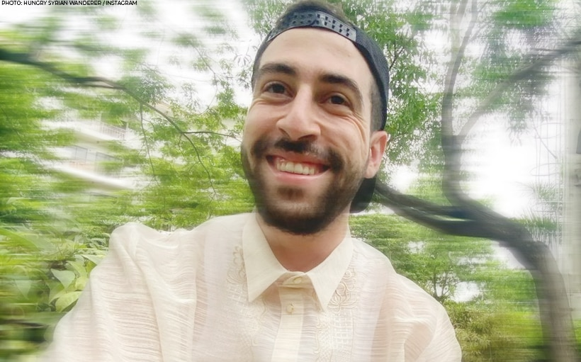 Vlogger 'The Hungry Syrian Wanderer' reveals he is now a Filipino citizen