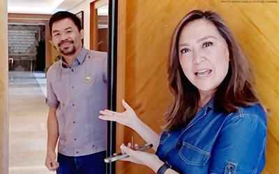 WATCH: Karen Davila gives us a glimpse of Manny Pacquiao's mansion