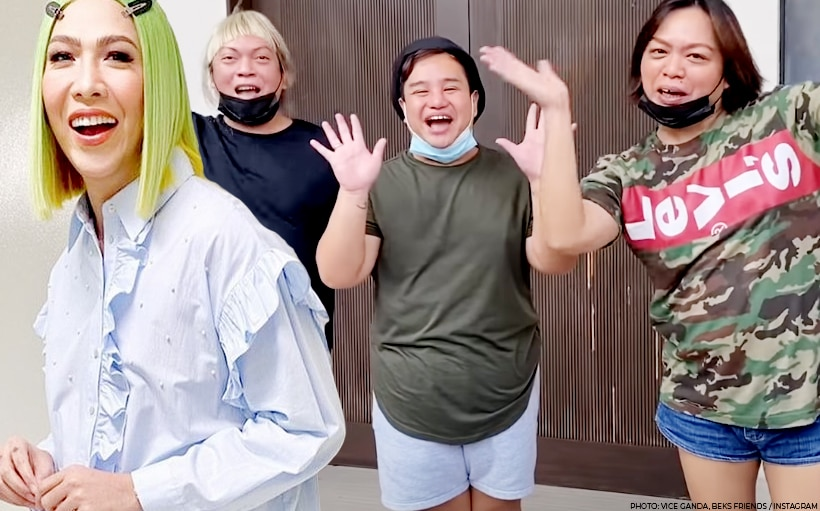 Vice Ganda gifts Beks Friends with a jacuzzi!