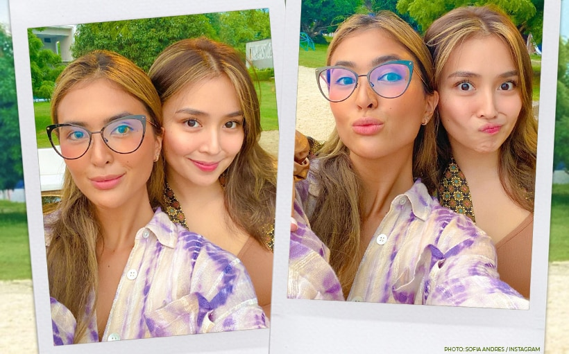 Kathryn Bernardo was one of the first people to find out about Sofia Andres' pregnancy